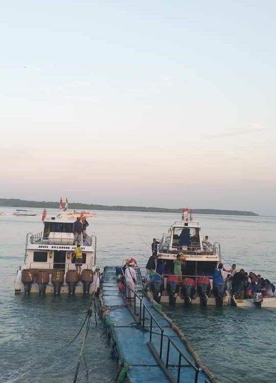 Fast boat ke nusa penida